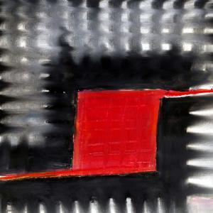 4-12 pastel-rouge-noir-gris 21-21 cadre 30-30