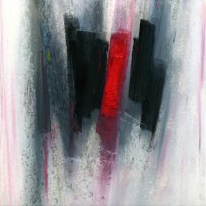 4-6 pastel gris-noir-rouge 21-21 cadre 30-30